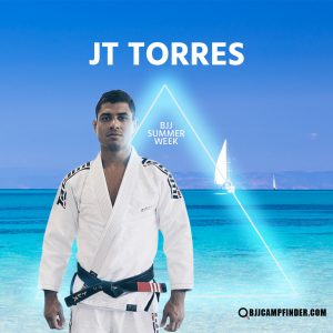 JT Torres will be one of the professors teaching at BJJ Summer Week 2020